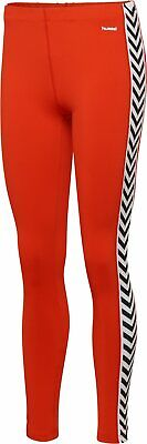 Hummel Women's Hive Lane Stretch tights with Chevrons Size L Large New With Tags