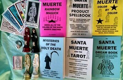 MYSTERIES OF THE HOLY DEATH book Santisima Muerte Santa