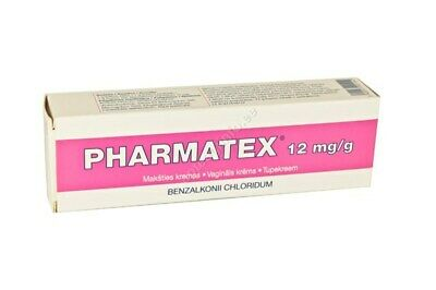 Pharmatex-Restores Vaginal flora/pH-Decreases pregnancy chances-72 g of cream