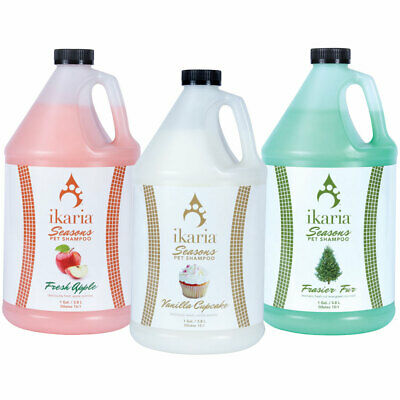 Pet Shampoo Season Dog Cat Grooming Aroma Therapeutic Scented Concentrate Gallon
