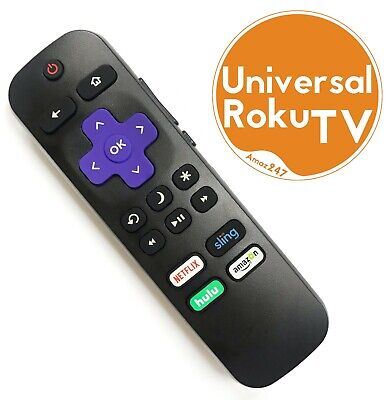 NEW IR Universal Replacement Remote compatible with ALL ROKU TVs™