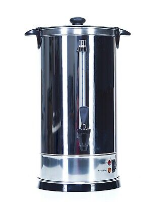 Shabbat Automatic Coffee Urn 50 Cups - Stainless Steel Hot Water Boiler & Warmer
