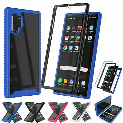 For Samsung Galaxy Note 10 / 10 Plus Silm Otterbox Clear Case + Screen Protector