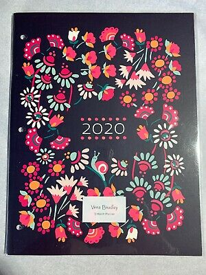 Vera Bradley 13 Month Booklet Planner in Petite Garden July 2019- July 2020