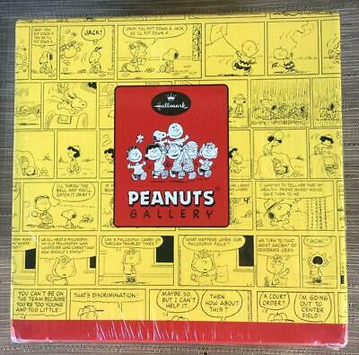 NEW -Hallmark Peanuts Gallery By The Book -Charlie & Snoopy BOOKENDS Figurines