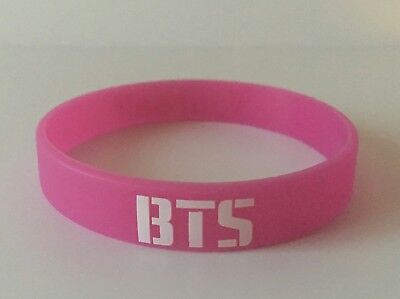 KPOP BTS In Bloom Chain PURPLE Bracelet Bangtan Boys Silicone Wristband Ship 1pc