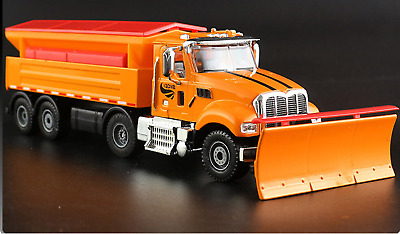 1:50 Scale Diecast Snow Plough Plow Winter Service Truck KDW Cars Model Toy