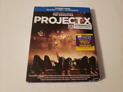 Project X (Bluray, 2012) [BUY 2 GET 1 FREE]