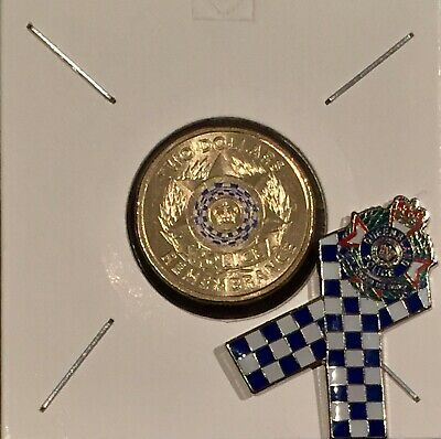 2019 $2 National Police Remembrance Day Coin With Police Remembrance Badge/Pin