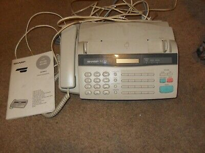 Sharp Facsimile Fax Machine  FO-165 Telephone Phone