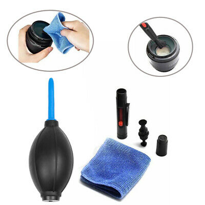 Camera Lens Cleaning Cleaner Dust Pen Blower Cloth Kit for DSLR VCR Camera Canon