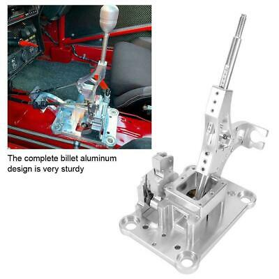 Car Billet Shifter Box Assembly Silver For Honda RSX Civic K-swap EF EG EK DC2