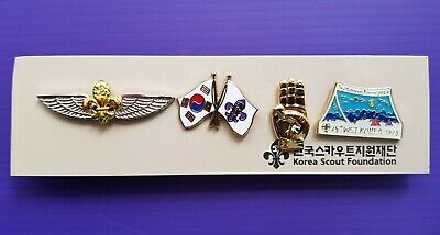 2023 World Jamboree /  Korea Scout Association Official Pin Badge set #2 / 2019