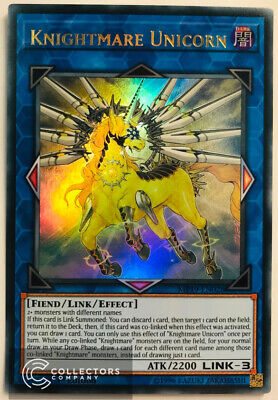 Yu-Gi-Oh! MP19-EN028 - Knightmare Unicorn - 1st edition - Ultra Rare