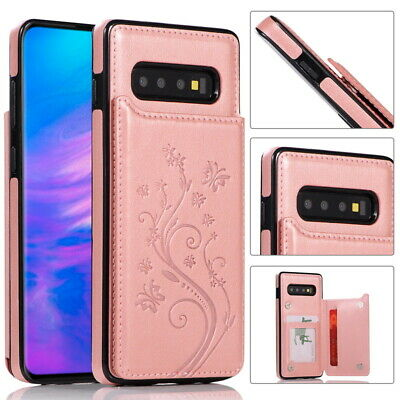 Snake Grain Leather Hybrid PC Case Cover For Samsung Galaxy S9 Note 10+ Plus 9 8
