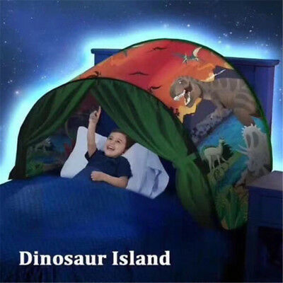 Dream Tents Dinosaur Island Playhouse Pop Up Tent Kids Play Indoor Tent Foldable
