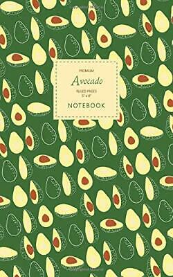 Avocado Notebook - Ruled Pages - 5x8 - Premium