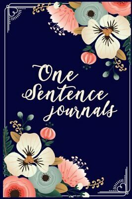 One Sentence Journals: 5 Years Of Memories, Blank Date No Month, 6 x 9, 365 Line