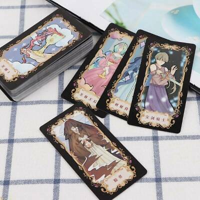 Student Tarot Cards With Colorful Box Mysterious Astrology Divination oard Game