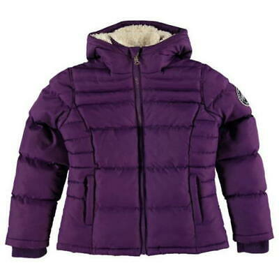 BNWOT Gorgeous Soul Cal girls padded winter coat 3-4 years purple