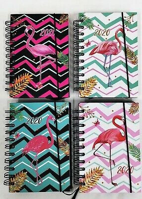 2020 Flamingo Hardcover Diary - Planner New Year Notebook Address Book