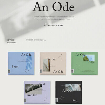 [SEVENTEEN] 3rd Album - An Ode  / Pre-order / Poster Option / New Sealed
