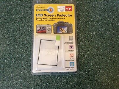 Promaster SystemPRO Hard LCD Screen Protector 2.7""