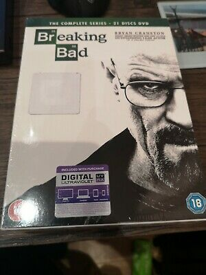 Breaking Bad: The Complete Series (Box Set with Digital Download) [DVD] new