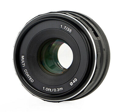 Meike 35mm F1.7 Objectif Multicouches pour Sony E-Mount
