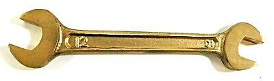 Aluminum Bronze Non Sparking Double Open Wrench 10 mm x 12 mm
