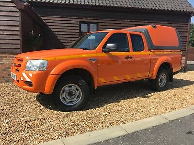 Ford Ranger Extended King Cab 4X4 Pick Up 2008 One Owner 2.5Tdci Mot Ready To Go