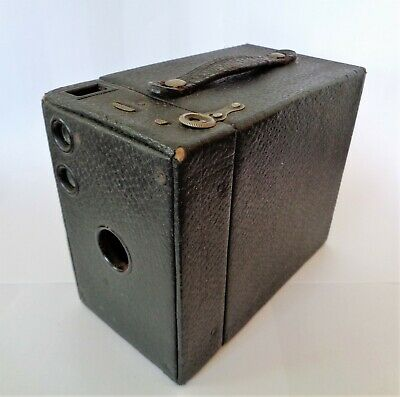 Antique United States Patent 1916 Eastman Kodak Box Brownie Camera No.2A Model B