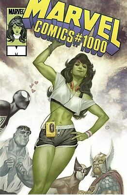 Marvel Comics #1000 Tedesco 80S Variant Marvel Comics Case720 8/2019
