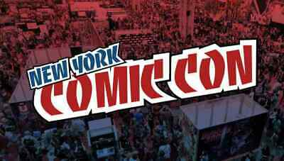 2019 New York Comic Con SUNDAY Badge, October 6 Fan Verified & NYCC Activated