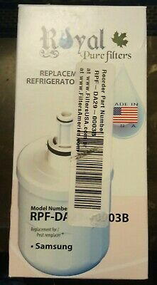 NEW SEALED Royal Pure Filters Refrigerator/Icemaker Replacement FilterSamsung