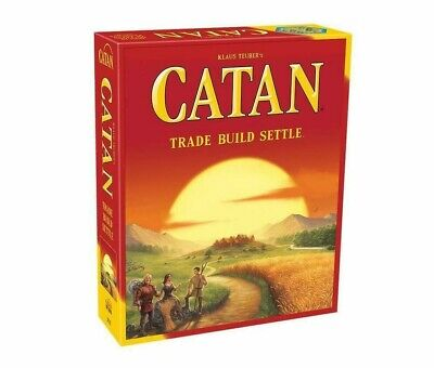 CATAN - Popular Board Game of Trading, Strategy, Tactical and Luck!