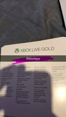 Xbox Live 14 Day Gold Trial Membership Code (2 Weeks) - Xbox One Only