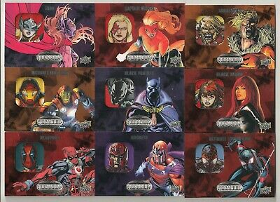 Marvel Vibranium Patch Lot (17 Different)W/Black Widow-Deadpool-Scarlet Witch+++