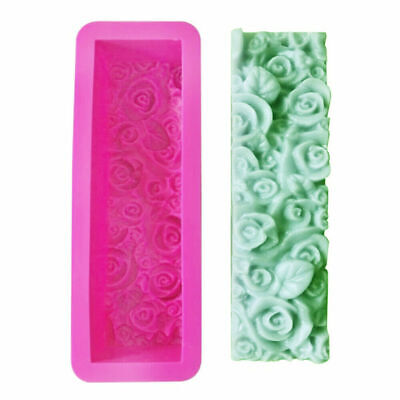 Loaf Soap Mold Flower Silicone Mat Toast Cake Baking Bread DIY Tools