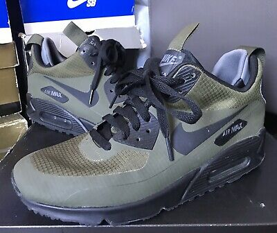 NIKE AIR MAX 90 Mid Winter Dark Lodendark Greyblack 806808