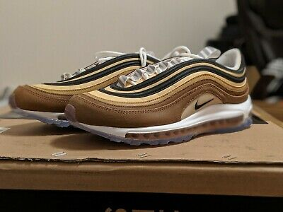 Men's Nike Air Max 97 Barcode Athletic Fashion Casual