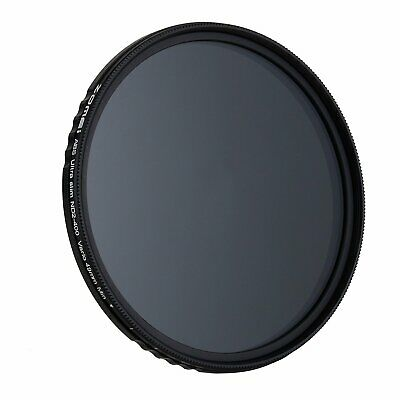 ZOMEI 67mm ND Filter Neutral Density Fader Adjustable Variable ND2,ND4,ND2-400