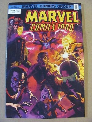 Marvel Comics #1000 Marvel 2019 Series Smallwood 1970's Variant 9.6 Near Mint+