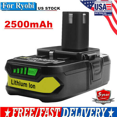 18V 2.5Ah Lithium-Ion Replacement Battery For Ryobi ONE+ P107 P108 P104 P105 EG