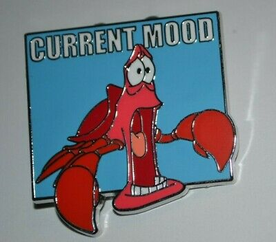 Disney Parks Jaw Dropping Sebastian Shocked Current Mood Mystery Collection Pin