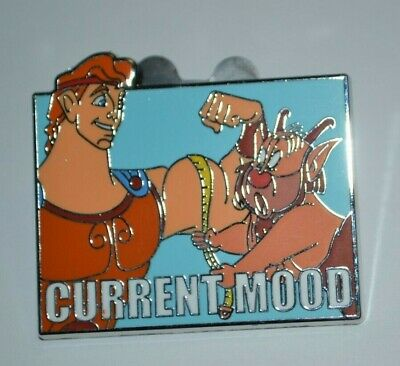Disney Parks Show Off Hercules & Phil Current Mood Mystery Collection Pin