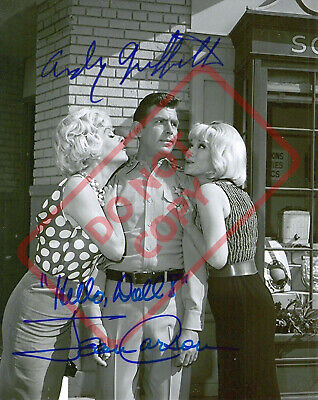 8.5x11 Autographed Reprint RP Photo Andy Griffith Jean Carson