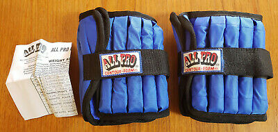 ALL PRO Single 5LB ADJUSTABLE ANKLE WEIGHT FREE SHIPPING
