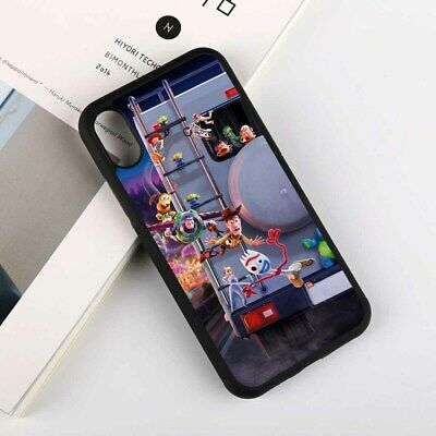 Toy Story 4 Cartoon Movie Poster Silicone Case Cover for iPhoneXR Samsung Huawei