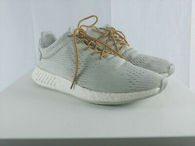 pretty nice e8dff a5efc ADIDAS NMD R2 Wings + Horns BB3118 Boost Primeknit PK Hint/White Men's Sz  11.5